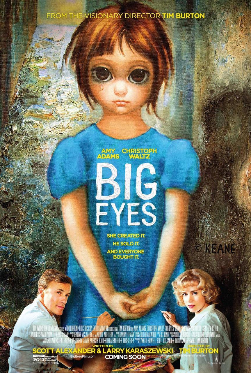 Big Eyes-locandina
